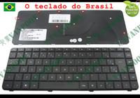 Teclado para computadora portátil NUEVO Y ORIGINAL PARA HP Compaq Presario G42 CQ42 AX1 G42-100 G42-200 G42-300 G42-400 Black Brasil BR BZ V112246AR1