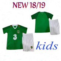 2019 Ireland kids soccer jerseys 18 19 Ireland Home MULLER C...