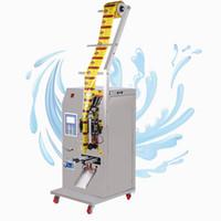 400W machine de conditionnement liquide commercial boisson à base de vinaigre de l'huile de l'eau pure assaisonnement machine d'emballage de la machine de remplissage de liquide d'étanchéité