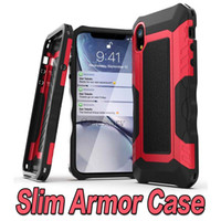 Slim Dual Layers Hybrid Armor Commuter Defender Cases for iP...