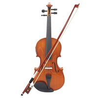4 4 Full Size Natural Acoustic EQ Violin Fiddle Solid Wood S...