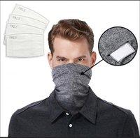 Hoofd sjaal halskap met veiligheidsfilter magische sjaals gezicht multifunctionele hoofdband bandana sjaal outdoor fietsen riding masker LJJA4072