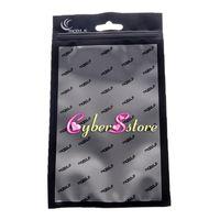 4 szie tamanho grande pacote de varejo Pouch OPP Poly plástico saco Dustproof bolso para Samsung Galaxy S8 iphone 7 5 Leather Case Capa