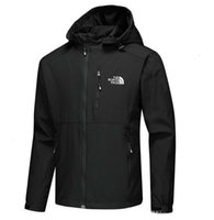 Mens luxury designer jackets Long Sleeve windbreaker windrun...