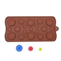 Stampo in silicone tasto di figura sveglia del sapone della gelatina muffa del cioccolato di cottura fai da te torta che decora gli accessori utensili da cucina Bakeware