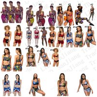 Women Swimsuit Two Piece Bikini Set Vest Tank Top Bras Short...