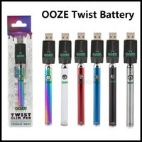 Ooze Slim Twist Battery 320mAh Bottom Spinner Vape Pen Cartr...