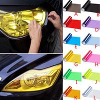 9meters carro faróis tint atacadista luz adesivo de luz lâmpada de nevoeiro folha de luz adesivo de luz tonalidade decalque tint proteja automático