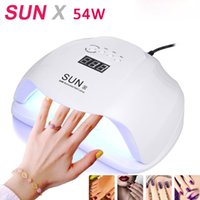 SUN X 54W UV Lamp LCDscreen Gel Nail Lamp Lamps Nail Dryer M...