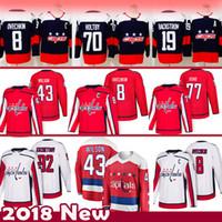 Herren 8 Alex Ovechkin 43 Tom Wilson Washington Capitals Hockey Jersey 92 Evgeny Kuznetsov 77 TJ Oshie 70 Braden Holtby 19 Nicklas Bäckström