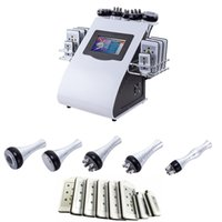 2019 newest 6 in 1 Lipo Laser+ Cavitation+ RF+ Vacuum  RF 40K ...