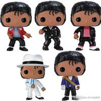 Niedriger Preis Funko Pop Michael Jackson Beat It Billie Jean Bad SM00th Kriminalfiguren Sammlung Modell Spielzeug für Kinder Geburtstagsgeschenk