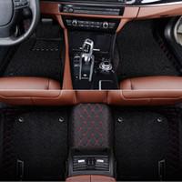 أرضية السيارة حصيرة مخصصة لمرسيدس بنز GLA GLE GL CLA ML GLK CLS W212 W245 W211 W169 GLA ML GLA القانون المدني W204 سيارة السجاد التصميم السيارات