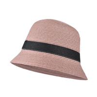 2020 moda kova şapka kadın vahşi bahar ve yaz ince kesit şapka net yüz küçük kapak yüzü balıkçı şapka etrafında büyük baş kırmızı