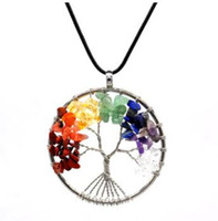 Wholesale Tree of Life Designer Necklace Women Silver Plated...