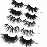 25MM 3D Mink Lashes Full Strip 25mm Lashes Free Private Labe...