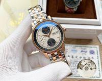 Top qualité Designer hommes Montre-bracelet 40mm automatique mécanique Montres de luxe Datejust inoxydable AVIGATION Montres-bracelets Patrimoine patudo