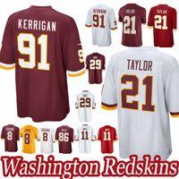 ... Taylor 11 Alex Smith 29 Derrius Guice 8 Kirk Cousins new jersey 2019.  US  16.20   Piece. New Arrival 724337fbc