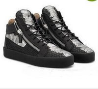 New Brand For Men Party Designer Sneakers Lovers Genuine Lea...