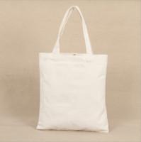 Venta al por mayor Nuevo patrón en blanco de lona bolsas de compras Eco reutilizable bolso de hombro bolso de mano de algodón Tote Bag