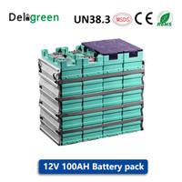 GBS LIFEPO4 12V 100AH Batterien für Elektrofahrräder / Werkzeuge / Mäher Hochwertige 12V Batterien mit freiem Anschluss GNE029