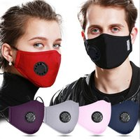 Breath Valve Mouth Masks Filter Pad Anti Pollution Washable ...