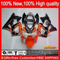 OEM cuerpo para HONDA CBR900RR CBR929 RR CBR900 naranja blk CBR 929RR 900 929 RR 76NO.126 CBR929RR 900cc 929CC 900RR 00 01 2000 2001 carenados
