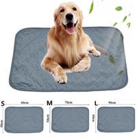 Chilly Mat Cooling Pet Dog Cat Bed Indoor Summer Cool Gel Pad Viscose Fiber Mats Heat Relief Non-Toxic