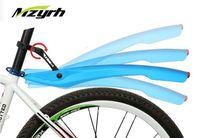 26-Zoll-Bike Fender MZYRH 1 Paar Sets mit LED-Rücklicht Flexible Fahrrad Kotflügel Abnehmbarer guter Qualität Freien Verschiffen