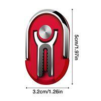 Rotação stand Rotação Car Mount Air Vent aperto 2 em 1 Phone Holder 360 Degree Dedo Magnetic Anel Phone Holder para todos smartphones