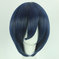 11 Colors Universal Anime Men Women Cosplay Wigs 30cm Short ...