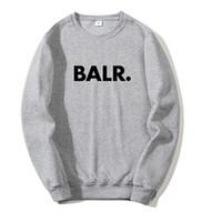 2020 BALR New Herrenbekleidung SweatshirtHoodie Frauen Pullover Top Herbst Entwerferhoodies-Sweatshirt Farbe Grau, Schwarz, Rot asiatische Größe S-3XL