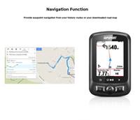 IGPSPORT IGS618 Bluetooth inalámbrico GPS Impermeable IPX7 Ciclismo Ordenador LED Bicicleta Cronómetro digital Ciclómetro Velocímetro