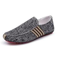 Amazon Hot Vendre anti-dérapants homme Souliers simple respirante Flats Chaussures