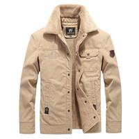 겨울 남성 폭탄 자켓 따뜻한 남성 자켓 양털 캐주얼 캐주얼 그는 전술 겉옷 두꺼운 자켓 남성 코트