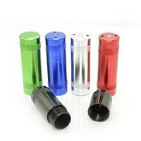 Nizza Cracker Aluminiumlegierung Flaschenöffner Pollen Presse Sahne- und Schaum zylindrische Form Dispenser Innovative Design Tragbarer Rauchen Werkzeug DHL