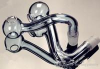 물 담뱃대 액세서리 [대담] 두꺼운 보라색 냄비 도매 유리 기억 만 석유 버너 유리 물 파이프 석유 굴착 무료 흡연