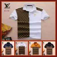 2019 Mens Polo Shirts Summer Luxury Polo Mens Shirt Loose Br...