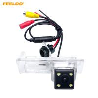 Per Luce Feeldo Car Rear View Camera con il LED Renault Fluence / Dacia Duster / Megane 3 / Nissan Terrano # 2810