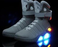 Air Mag Sneakers Marty McFly' s LED Shoes Back To The Fu...