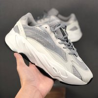 ideatore del progettista delle scarpe da tennis Kanye West riflettente di lusso di lusso True Form Hyperspace Statico jogging formatori Walking Running Shoes