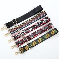Wholesale shoulder strap Adjustable female ethnic style colo...