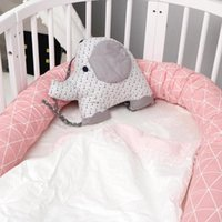 2M Newborn Protection Pad Baby Bed Bumper Infant Crib Fence ...