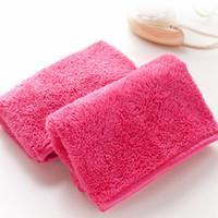 40 * 18 cm Súper suave Removedor de maquillaje de toalla Maquillaje reutilizable Toalla de toalla de alta calidad Removedor de toalla No necesita limpiar herramientas de aceite RRA1599