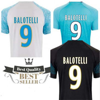 2019 for Marseille Maillot de foot T- shirts BALOTELLI PAYET ...