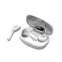 T9S TWS Earbuds Casques sans fil Bluetooth 5.0 Son stéréo Écouteurs Sound Sound In-Ear Gratuit Sports Sports Casque Résolution du bruit