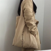 2019 New Hot Design Shopping Bag Rice Yellow Letters Women S...