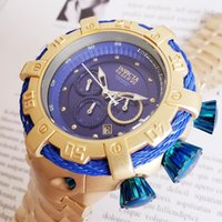 Switzerland cosc top Perfect quality INVICTA brand Large dia...