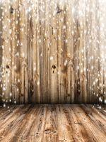 Weiße Schnee Holz Wand Vinyl Fotografie Kulissen Holzstreifen Textur Fotokabine Hintergründe für Kinder Weihnachtsfeier Studio Requisiten
