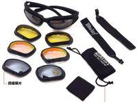 Daisy C5 tactique en polycarbonate Desert Storm sports sunglasse vélo équitation protection des yeux lunettes d'équitation pour Airsoft UFree Shipping